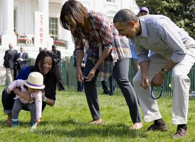 News video: Raw: Obamas Host Annual Easter Egg Roll
