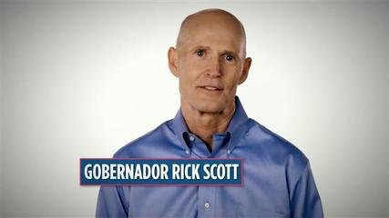 News video: GOP Gov. Rick Scott Airs Spanish Campaign Ad